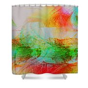 Peace And Light Shower Curtain