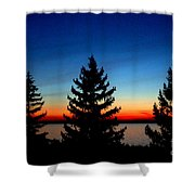 Peace And Quiet 3 Shower Curtain