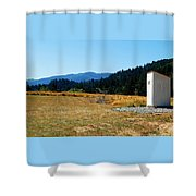 Peace And Solitude Shower Curtain