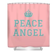 Peace Angel Shower Curtain