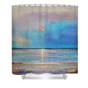 Peace Beach Shower Curtain