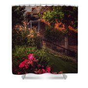 Peace Before The Storm - Roses Shower Curtain