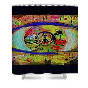 Peace Can Be Seen Shower Curtain