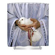 Peace Dove Shower Curtain