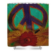 Peace Every Day Shower Curtain