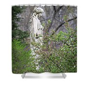 Peace In Eternal Prayer Shower Curtain
