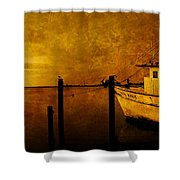 Peace In The Harbor Shower Curtain