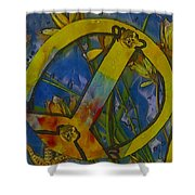 Peace In The Nature Shower Curtain