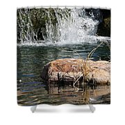 Peace In The Park Shower Curtain