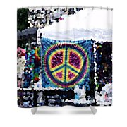 Peace In The Streets Shower Curtain