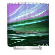 Peace Is Colorful 2 Shower Curtain