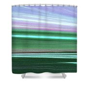 Peace Is Colorful 3 - Panoramic Shower Curtain