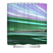 Peace Is Colorful 3 Shower Curtain