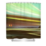 Peace Is Colorful Shower Curtain