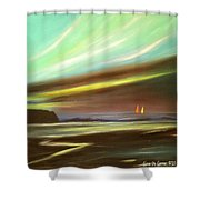 Peace Is Colorful - Square Painting Shower Curtain