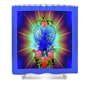 Peace Light And Love Shower Curtain