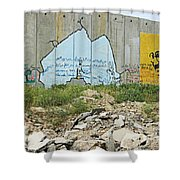 Peace Messages Shower Curtain