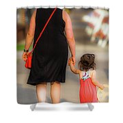 Peace Now Color Shower Curtain