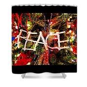 Peace Ornament Shower Curtain