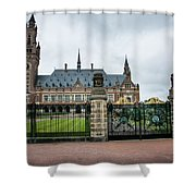 Peace Palace Shower Curtain