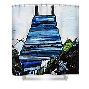 Peace Pier Shower Curtain