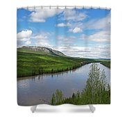 Peace River Shower Curtain