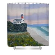 Peace Sold Shower Curtain