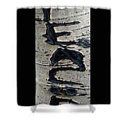 Peace Written In The Trees 4 Shower Curtain