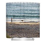 Peaceful Beaches Shower Curtain
