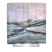 Peaceful Brook Shower Curtain