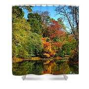 Peaceful Calm - Allaire State Park Shower Curtain