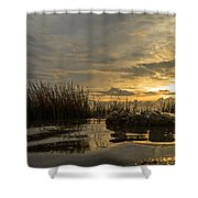 Peaceful Clouds Shower Curtain