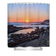Peaceful Evening Shower Curtain
