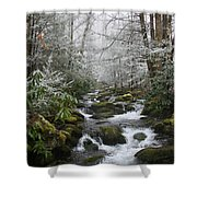 Peaceful Flow Shower Curtain