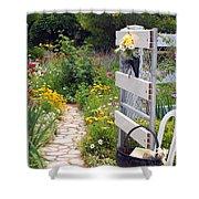 Peaceful Garden Shower Curtain
