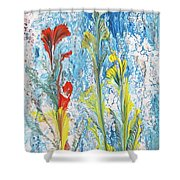 Peaceful Living Shower Curtain