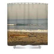 Peaceful Morning Beach Shower Curtain