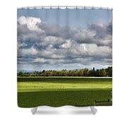 Peaceful Morning - Hdr Shower Curtain