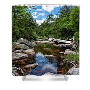Peaceful Morning On The Peterskill Shower Curtain