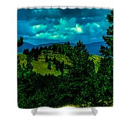 Peaceful Perspective  Shower Curtain