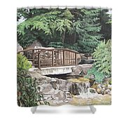 Peaceful Place Shower Curtain