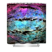 Peaceful Planet Shower Curtain