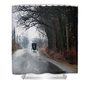 Peaceful Road Shower Curtain