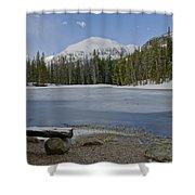Peaceful Rocky Mountain National Park Shower Curtain