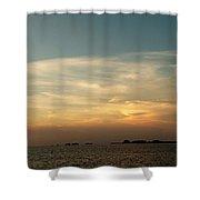 Peaceful Skies Shower Curtain