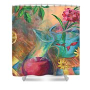 Peaceful Summer Shower Curtain