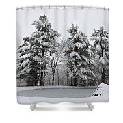 Peaceful  Shower Curtain