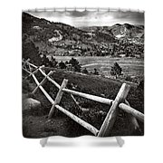 Peaceful Valley Shower Curtain