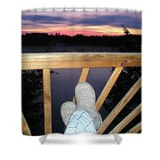 Peaceful View Shower Curtain