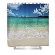 Peaceful Waves Shower Curtain